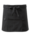 Waitress Apron with zip pockets